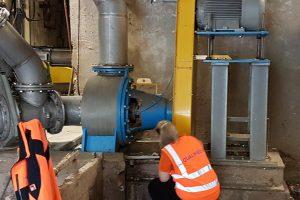 QFA Dirtpump 2, Begutachtung nach 4 Jahren Betrieb, 201809